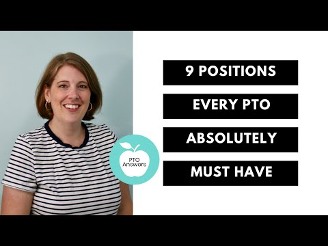 9 Positions Every PTO Must Have