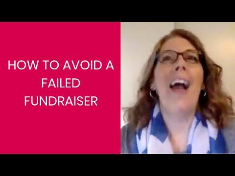 How to Avoid a Failed Fundraiser