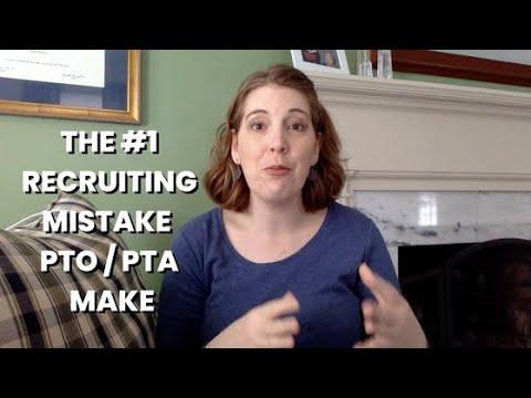 The #1 Volunteer Recruiting Mistake PTOs Make