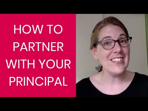 How to Partner with your Principal