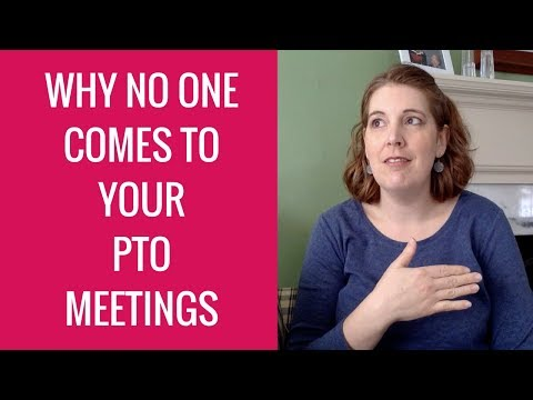 3 Reasons Why No One Comes to Your PTO meetings