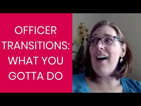 PTO Officer Transitions: What You Gotta Do