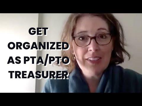 How to Get Organized as a PTO Treasurer