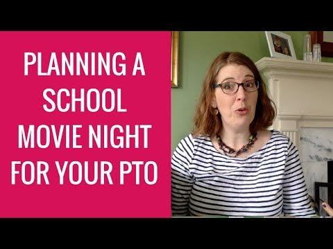 How to Run a School Family Fun Movie Night