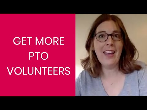 How to Get More PTO Volunteers