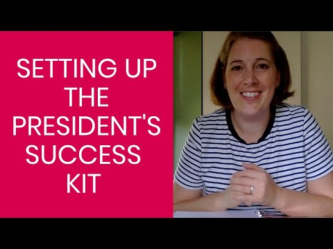 Setting Up the PTO President's Success Kit