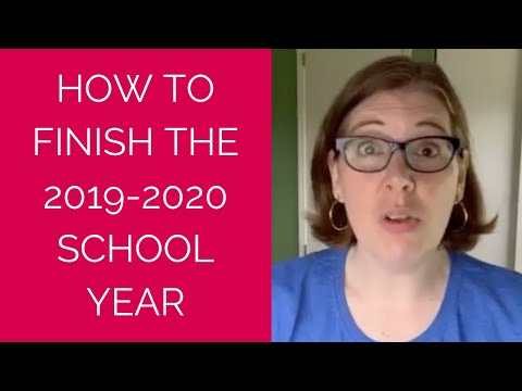 How to Finish Out the School Year During a Pandemic