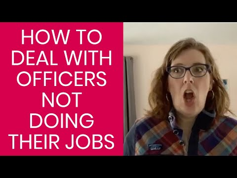 What To Do When PTO Officers Don't Do their Job