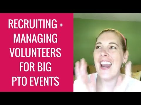 How to Recruit and Manage Volunteers for Big Events