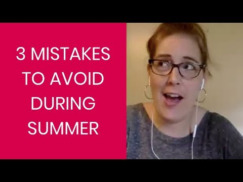 3 Mistakes to Avoid this Summer as a PTO Leader