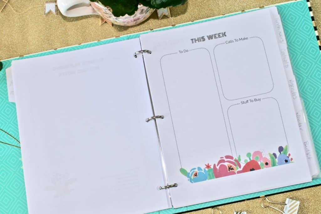 Printable PTO President's Success Kit on colorful desktop