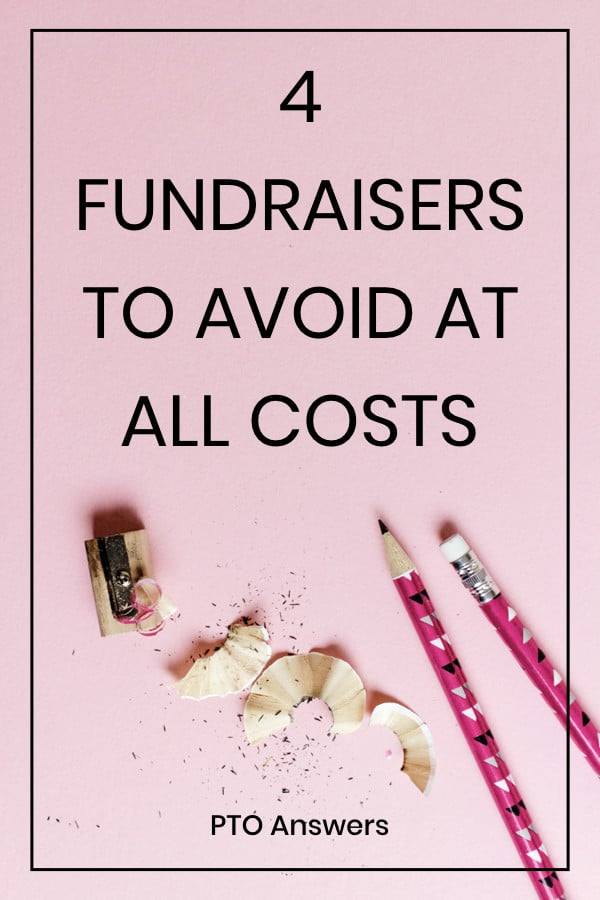 pto fundraising with pencils