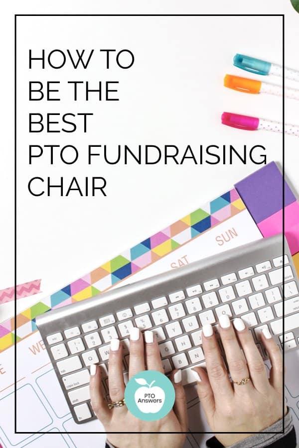 pto fundraising chair duties