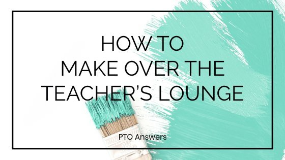 School teacher lounge make over ideas