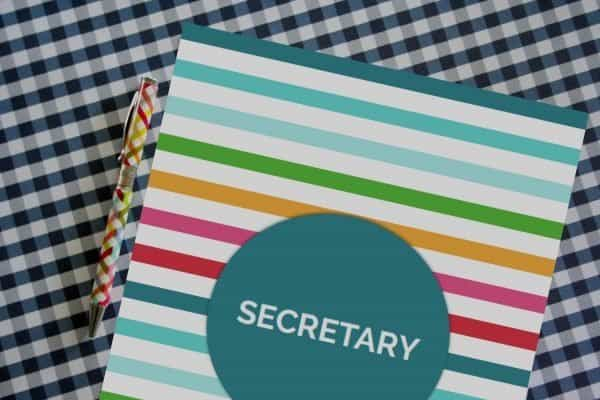 PTO PTA Secretary Binder Kit from PTO Answers