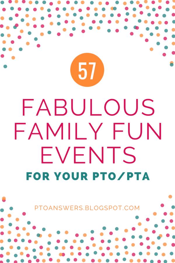 57 Fabulous School Family Fun Night Ideas