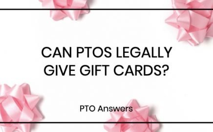 Can PTOs Legally Give Gift Cards?
