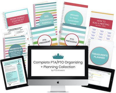 the complete pta/pto organizing and planning collection