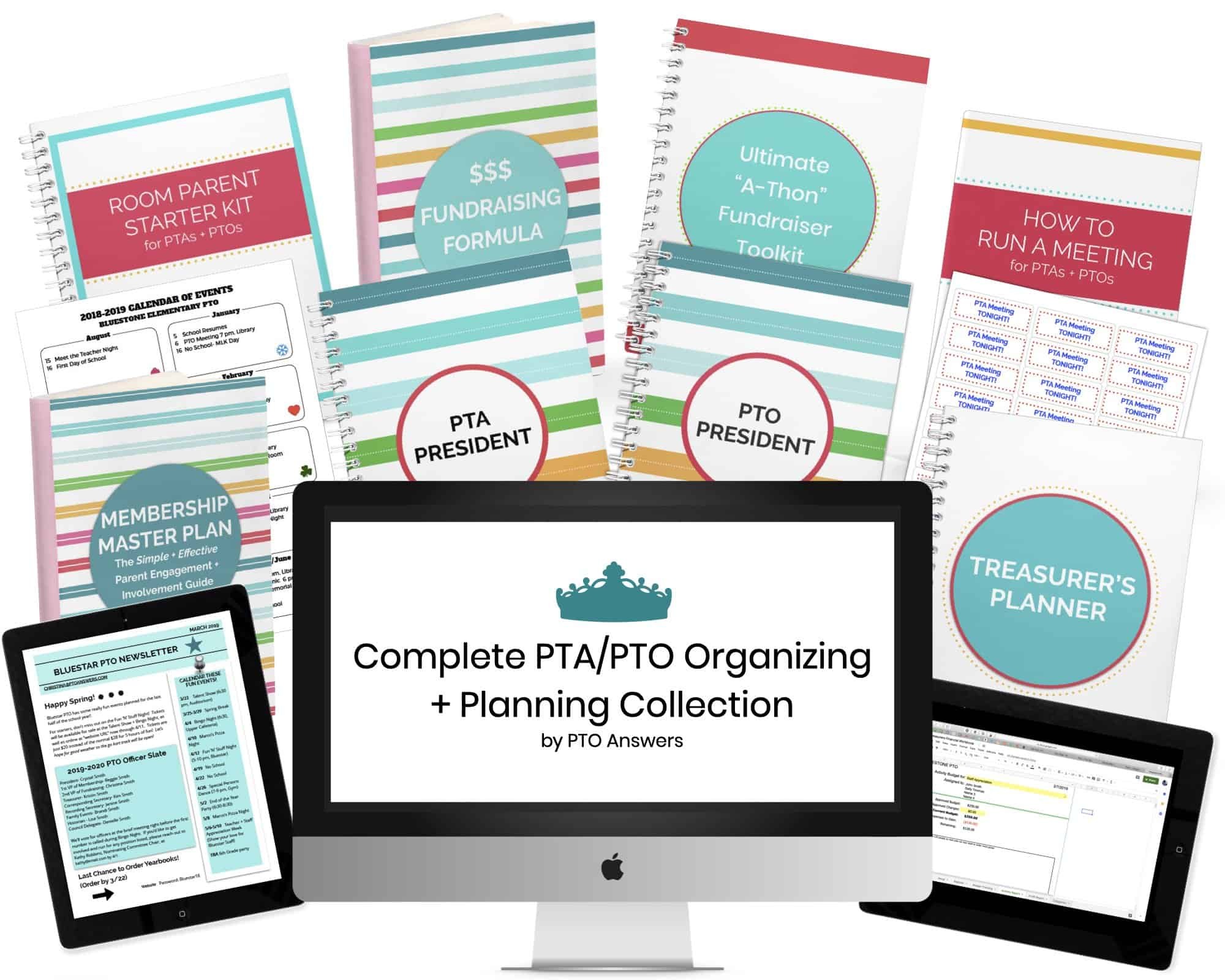 pto pta complete organizing and planning collection