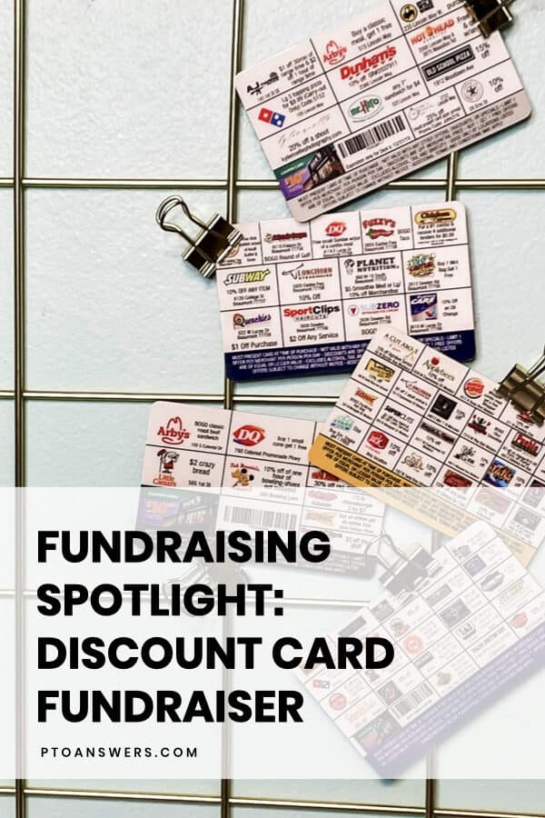 Discount cards from Discount Fundraising for PTO and school fundraisers